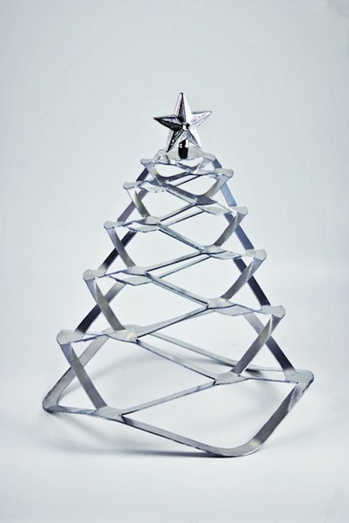 Minimalistic christmas tree for the lazy designtaxi