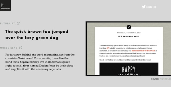 For Designers: Website Helps You Match Typefaces For The Perfect