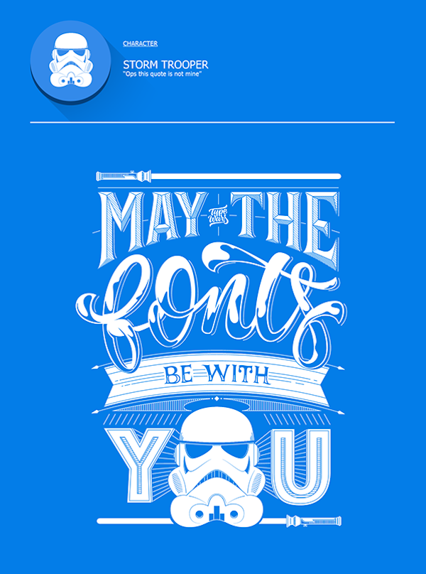 Witty Posters Make Fun Of Common Typography Mistakes Using Star