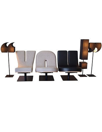 Typography Lounge Chairs For Designers DesignTAXIcom