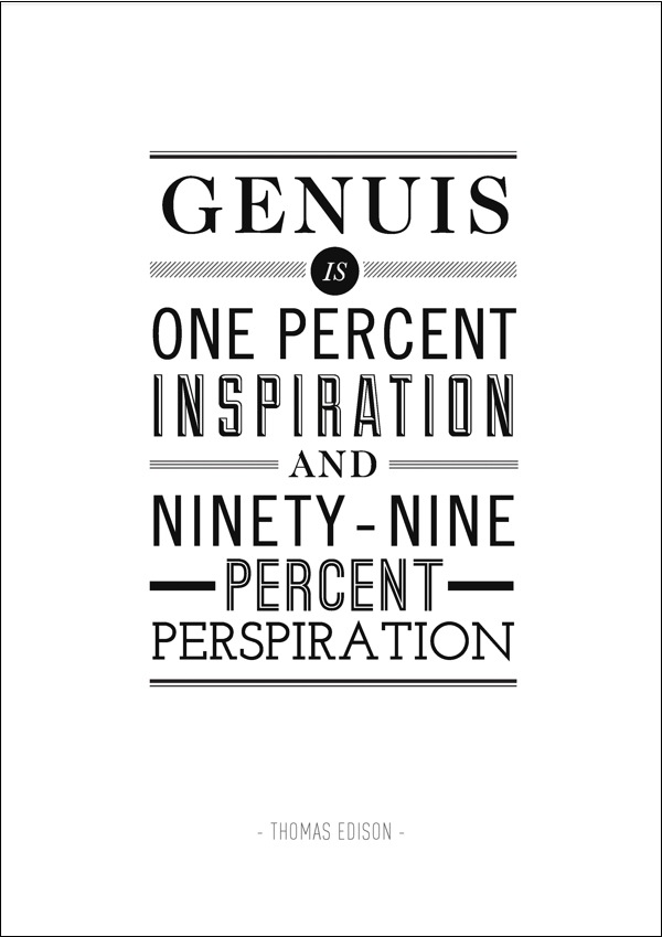 Inspirational Typography Posters Quotes Einstein Jobs Lincoln