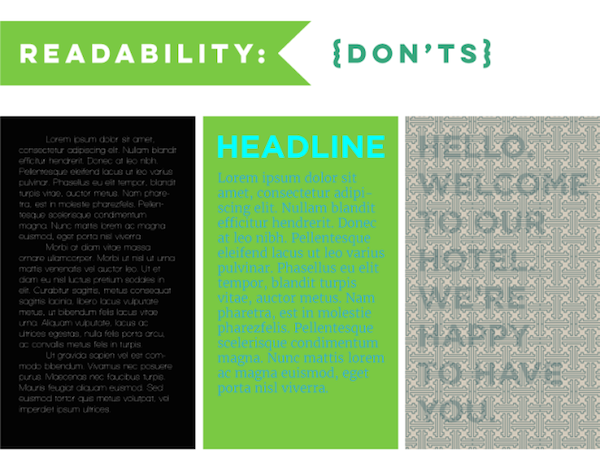 common typography mistakes that rookie designers tend to make designtaxi com