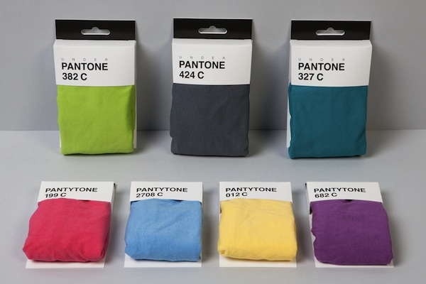 Creative Agency Creates 'Underpantones', Underwear For Designers