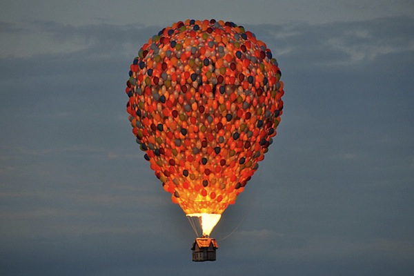 A Wonderful Hot Air Balloon Inspired By Disney Pixar S Up