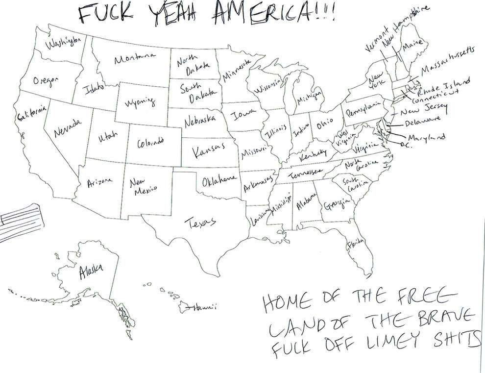Brits Asked To Identify The 50 States Of USA, Give
