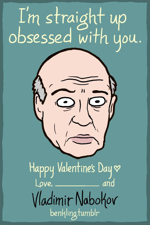 Valentineu0027s Day Cards Full Of Geeky Puns From Writers, Artists