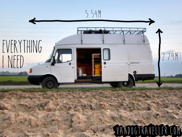 Man Quits His Job, Lives In A Van To Fulfill His Dreams Of Traveling The World