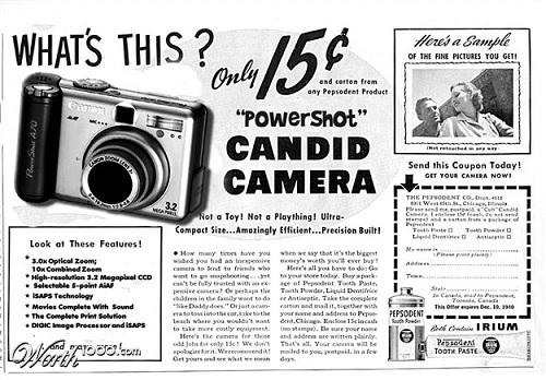 If Today S Popular Brands Had Vintage Advertisements