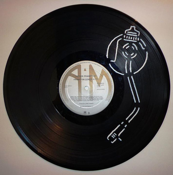 Liam Thinks!: Intricate Hand-Cut Vinyl Record Art