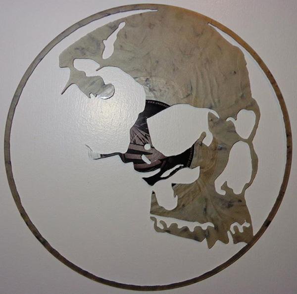 Intricate Hand Cut Vinyl Record Art Designtaxi Com