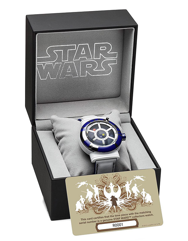 LucasFilm Releases New 'Star Wars' Collectors Watches ...