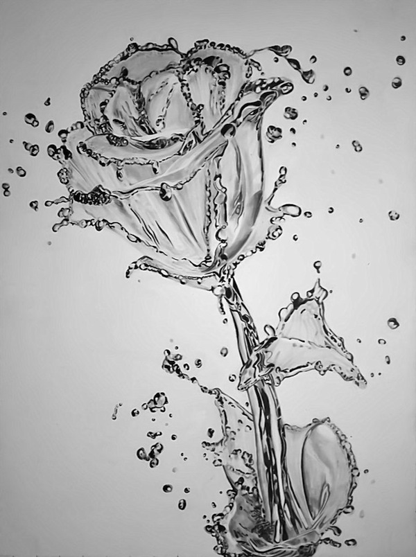 Top Incredibly Realistic Drawings Of Water Taking The Shape Of Objects  NP02