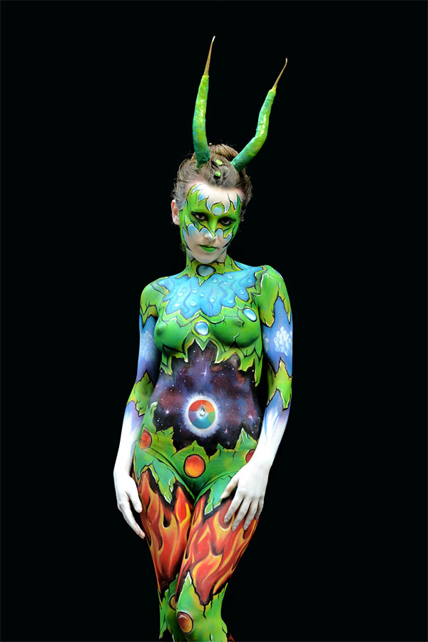 Stunning Body Art Unveiled At The 16th World Bodypainting ...