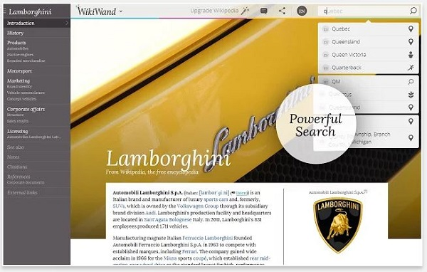 'WikiWand' Gives Wikipedia Clean New Layout For A Better
