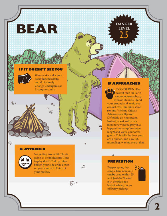 A Funny Illustrated Survival Guide On How To React When