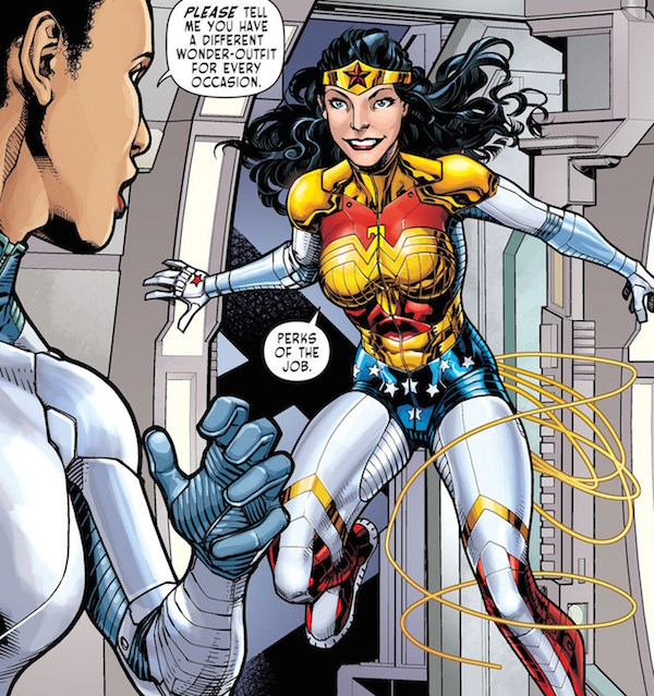 Comic Shows Wonder Woman Has Cellulite Too, Sends Positive Body Image Message -3493