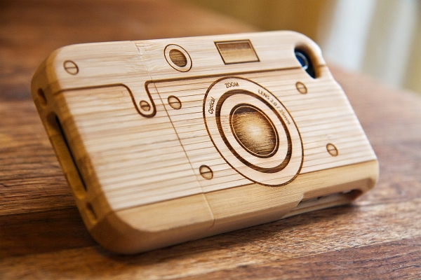 Wood Engraved Iphone Case