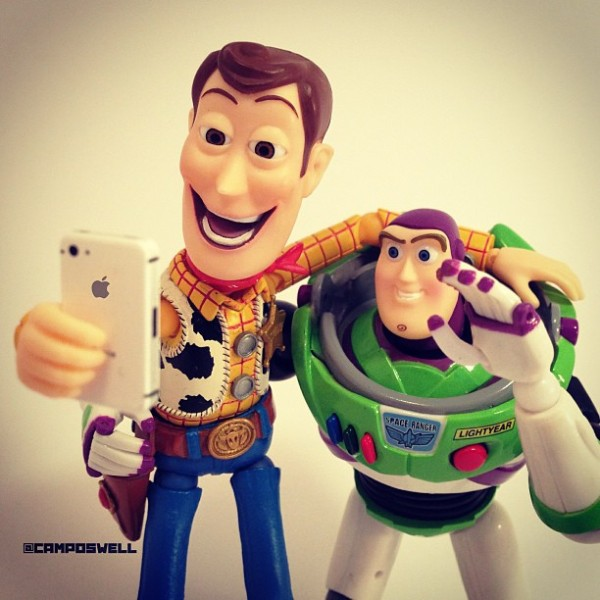 ... Creative Photographs Of Woody From 'Toy Story' - DesignTAXI.com
