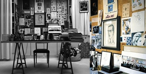 the inspiring workspaces of pablo picasso ray eames