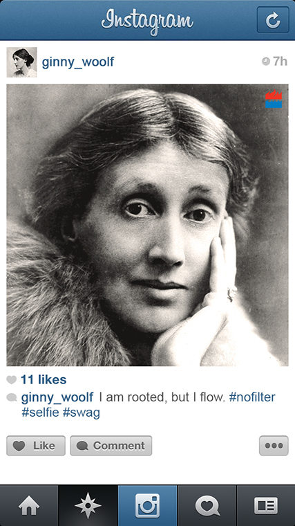 The Photos Famous Writers Would Post If They Had Instagram