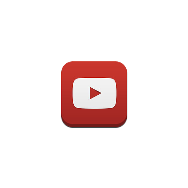 YouTube Unveils New 'Flat' App Icon - DesignTAXI.com