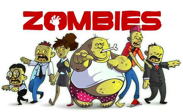 A Zombie Themed Video Game Designed To Get Desk Workers To